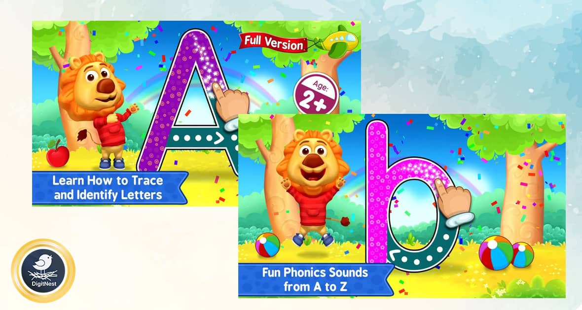 بازی ABC Kids - Tracing & Phonics