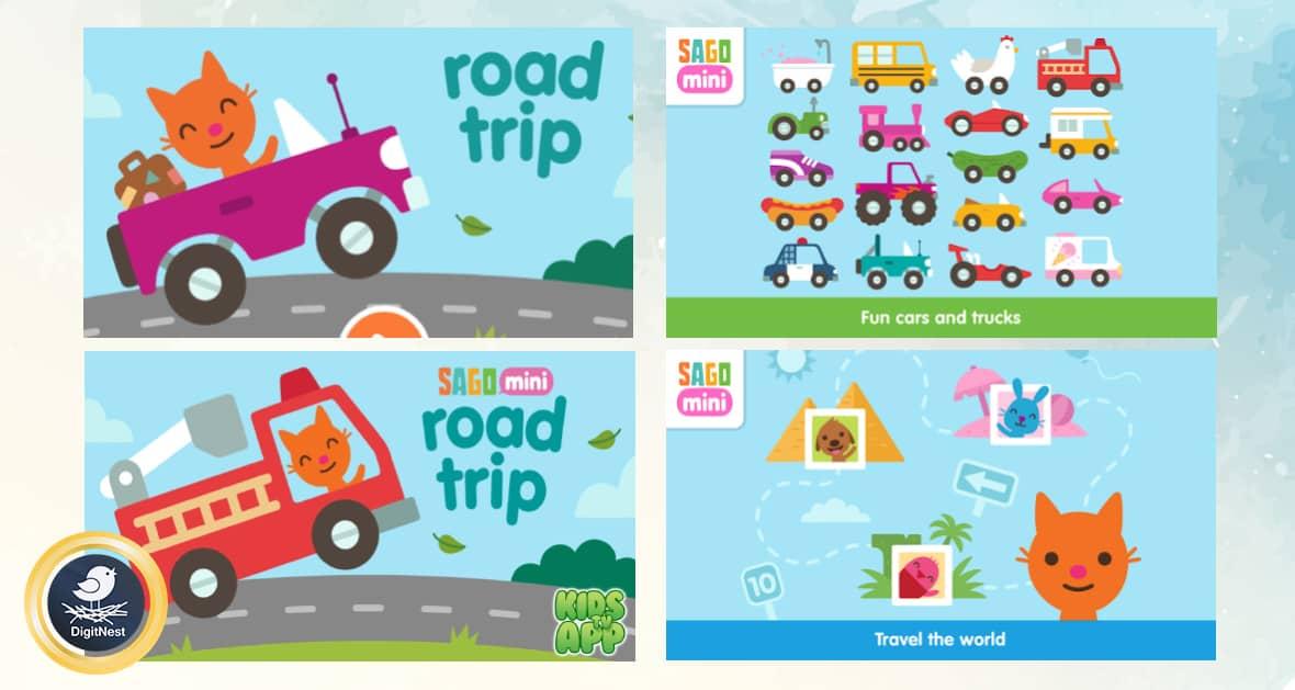 بازی Sago Mini Road Trip 2