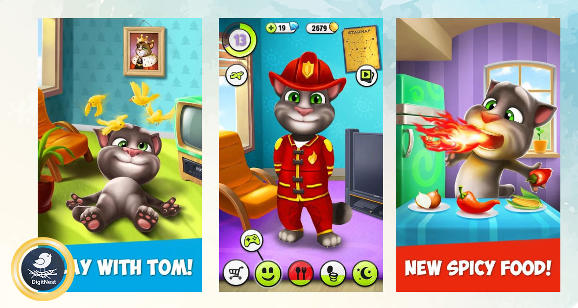 بازی My Talking Tom