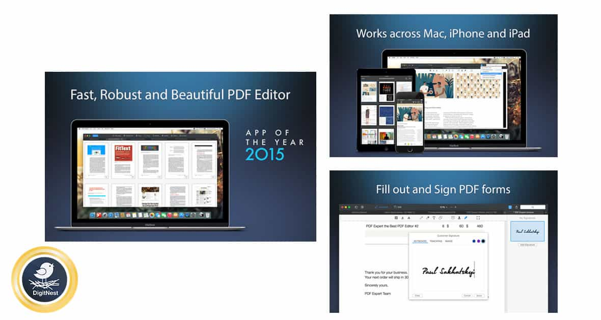 برنامه PDF Expert - Edit and Sign PDF