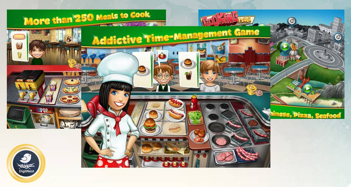 بازی آیفون Cooking Fever
