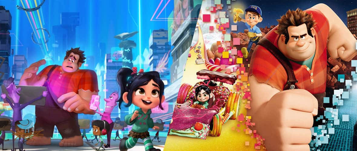 انیمیشن Ralph Breaks the Internet Wreck-It Ralph 2