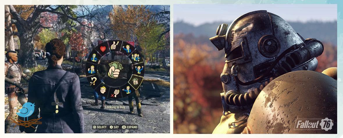 بهترین بازی کامپیوتر آخرالزمان Fallout 76