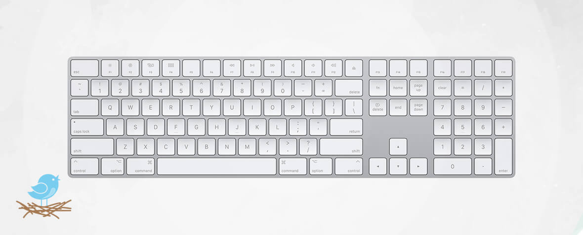 کیبورد Apple Magic Keyboard