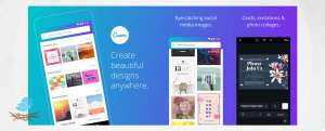 برنامه اندروید Canva: Graphic design & poster, invitation maker