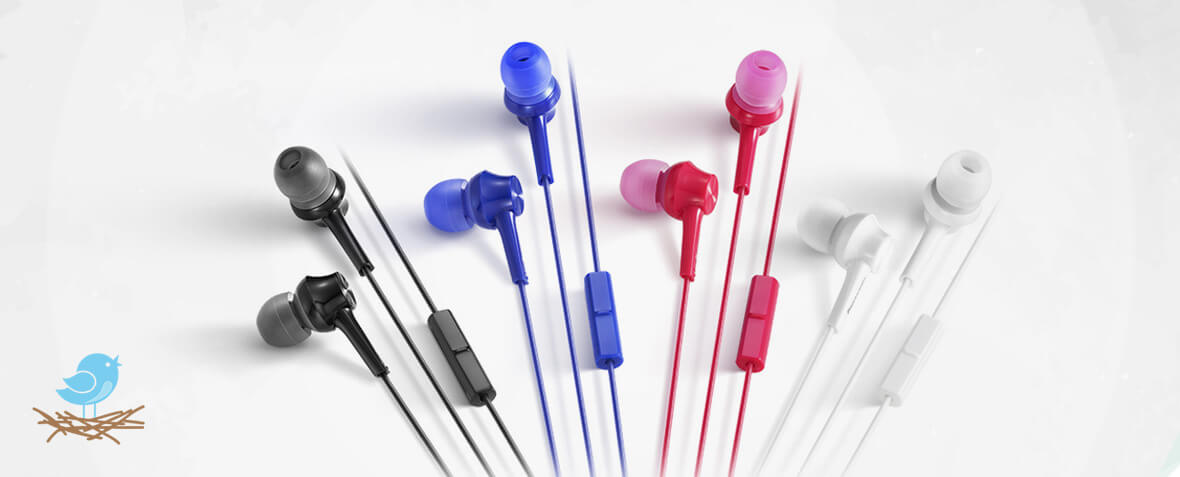 هدفون Panasonic ErgoFit RP-TCM125 in-ear headphone