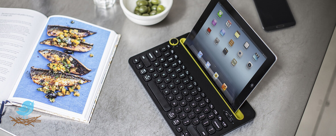 کیبورد Logitech K480 Multi-Device Bluetooth Keyboard