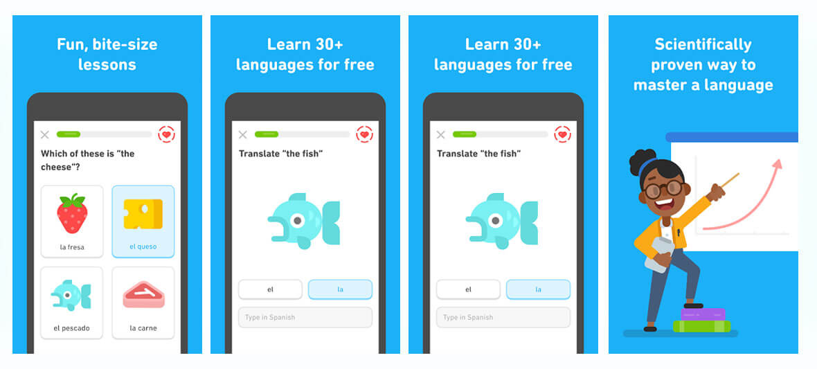 اپلیکیشن Duolingo: Learn Languages Free