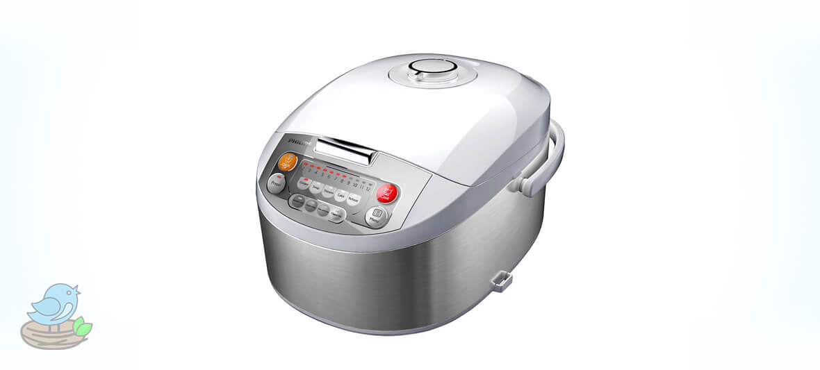 پلوپز فیلیپس Philips HD3038 Fuzzy Logic Rice Cooker