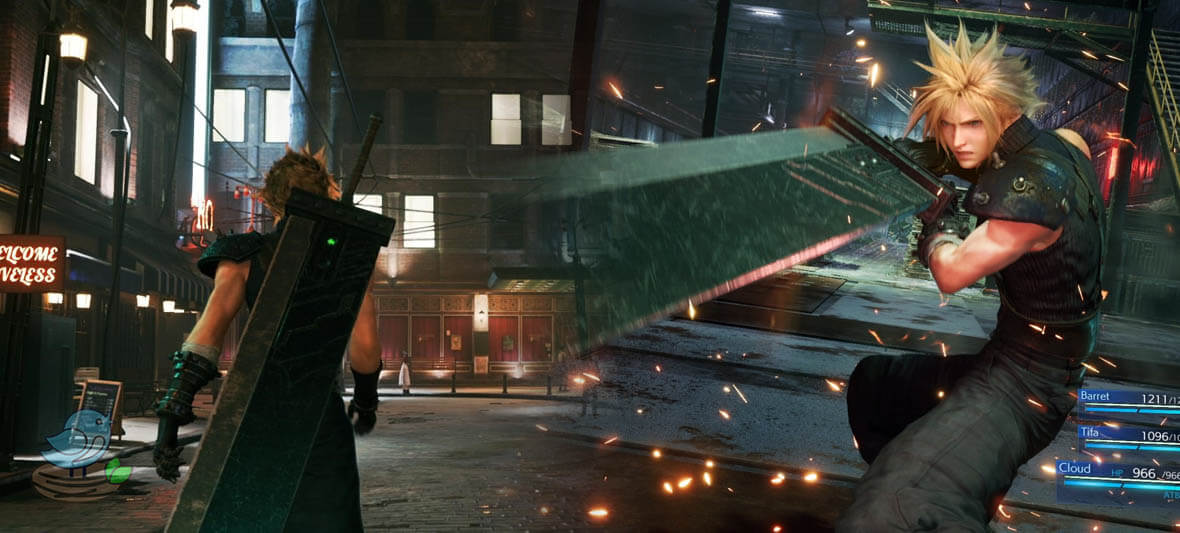 بهترین بازی ps4 Final Fantasy VII Remake