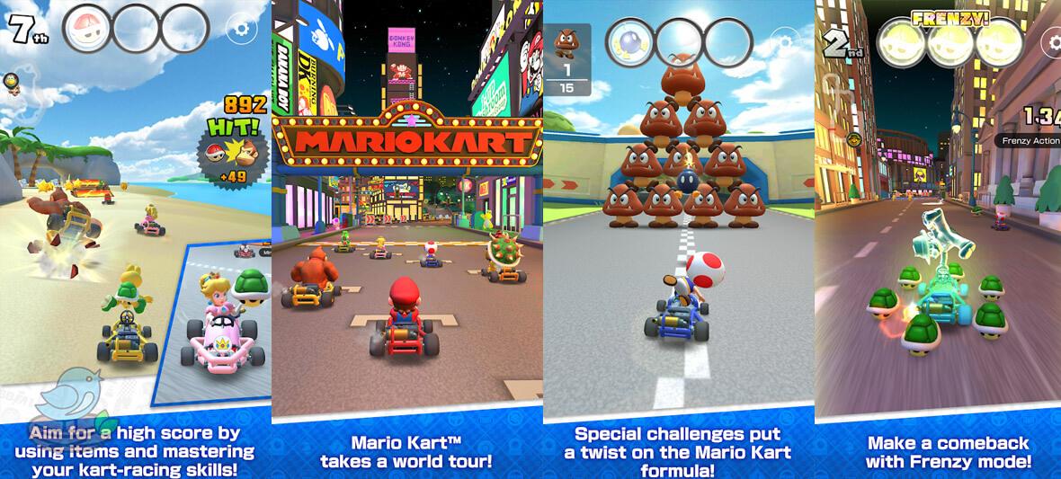 بازی اندروید Mario Kart Tour