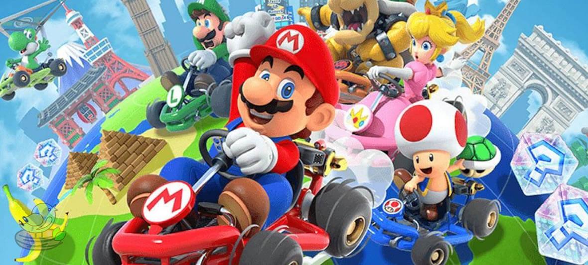 بازی آیفون Mario Kart Tour