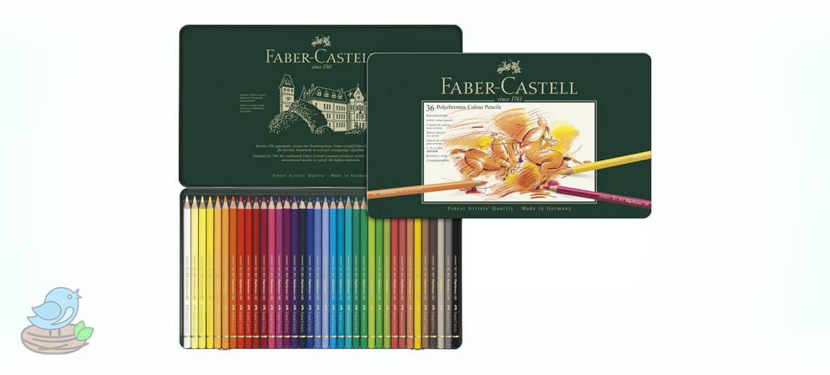 مداد رنگی 36 رنگ فابرکاستل مدل polychromos